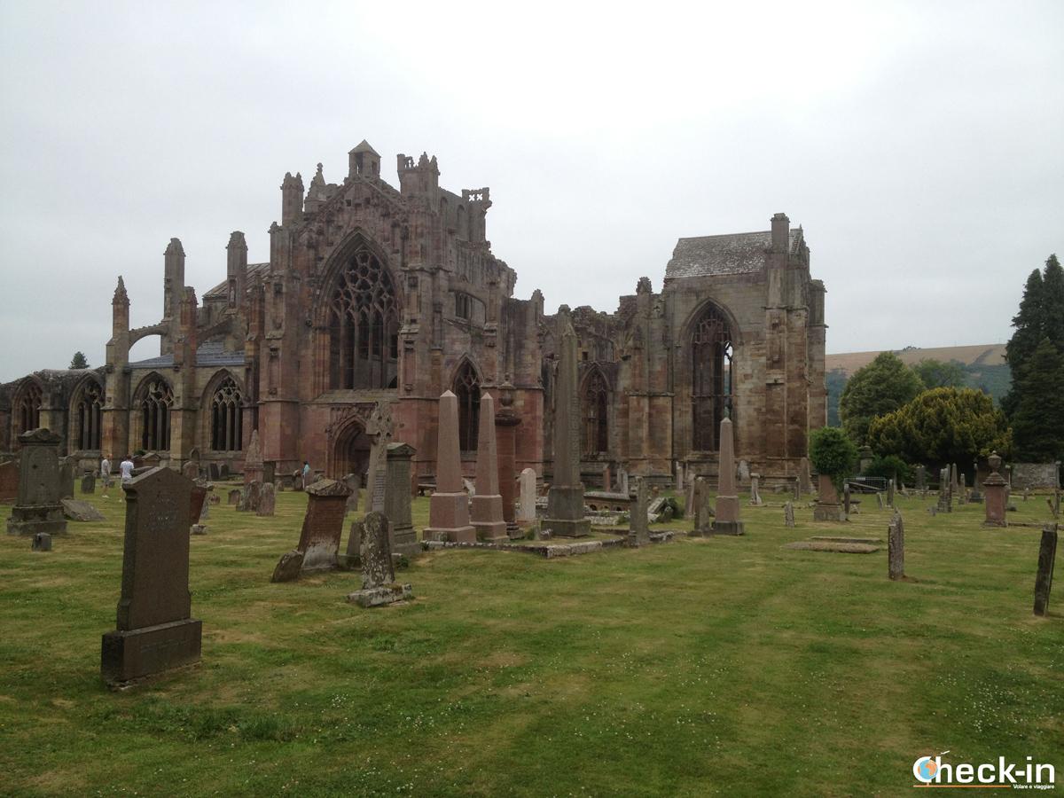 Tra Scozia e Inghilterra: Melrose Abbey