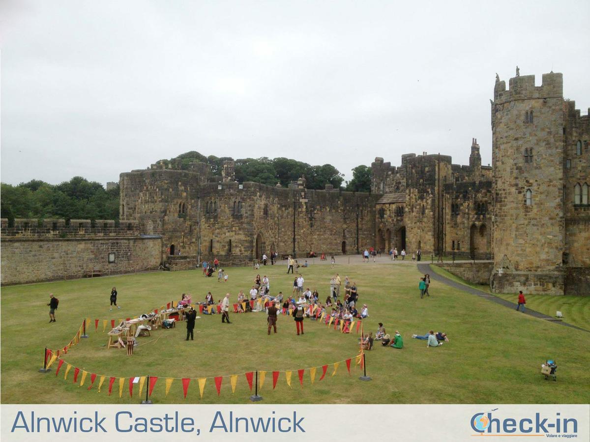 Tra Scozia e Inghilterra: all'interno del Castello di Alnwick