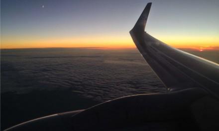 Panorami in volo con Klm da Milano ad Amsterdam