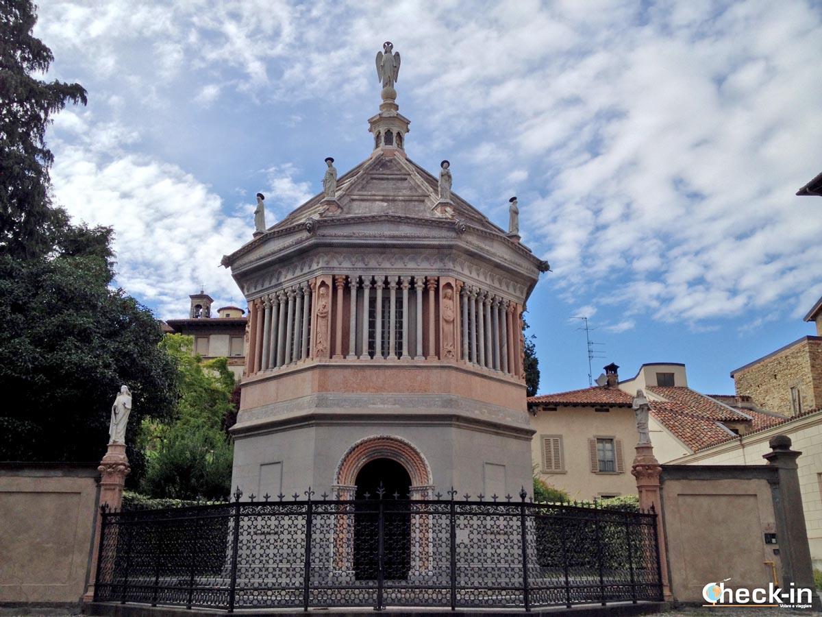 5 cose da vedere nel borgo medievale di Bergamo Alta: il Battistero