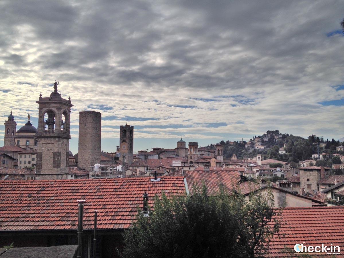 5 cose da vedere a Bergamo: la Città Alta dalla Rocca