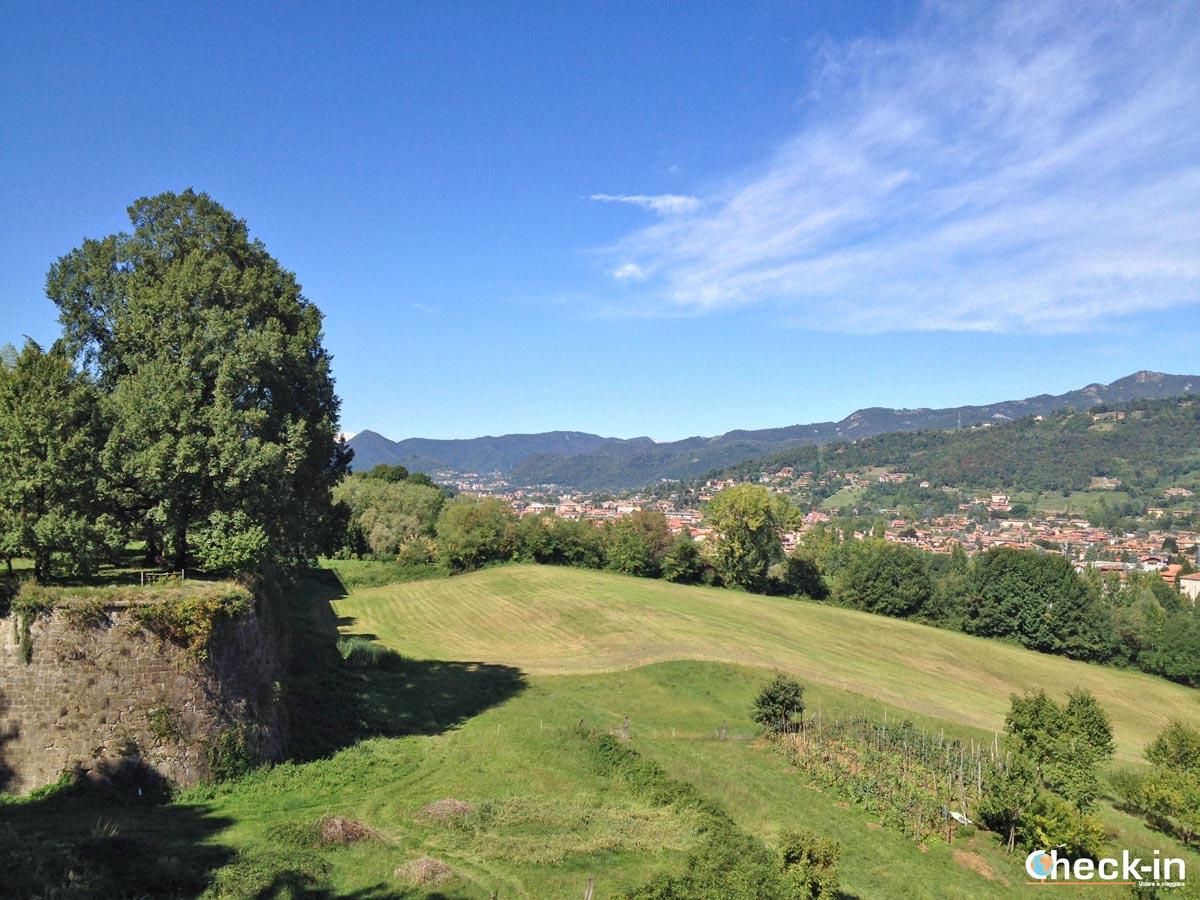 5 cose da vedere a Bergamo: il panorama dalle mura veneziane