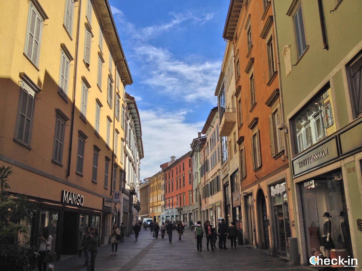 5 cose da vedere a Bergamo in giornata da Milano: via XX Settembre