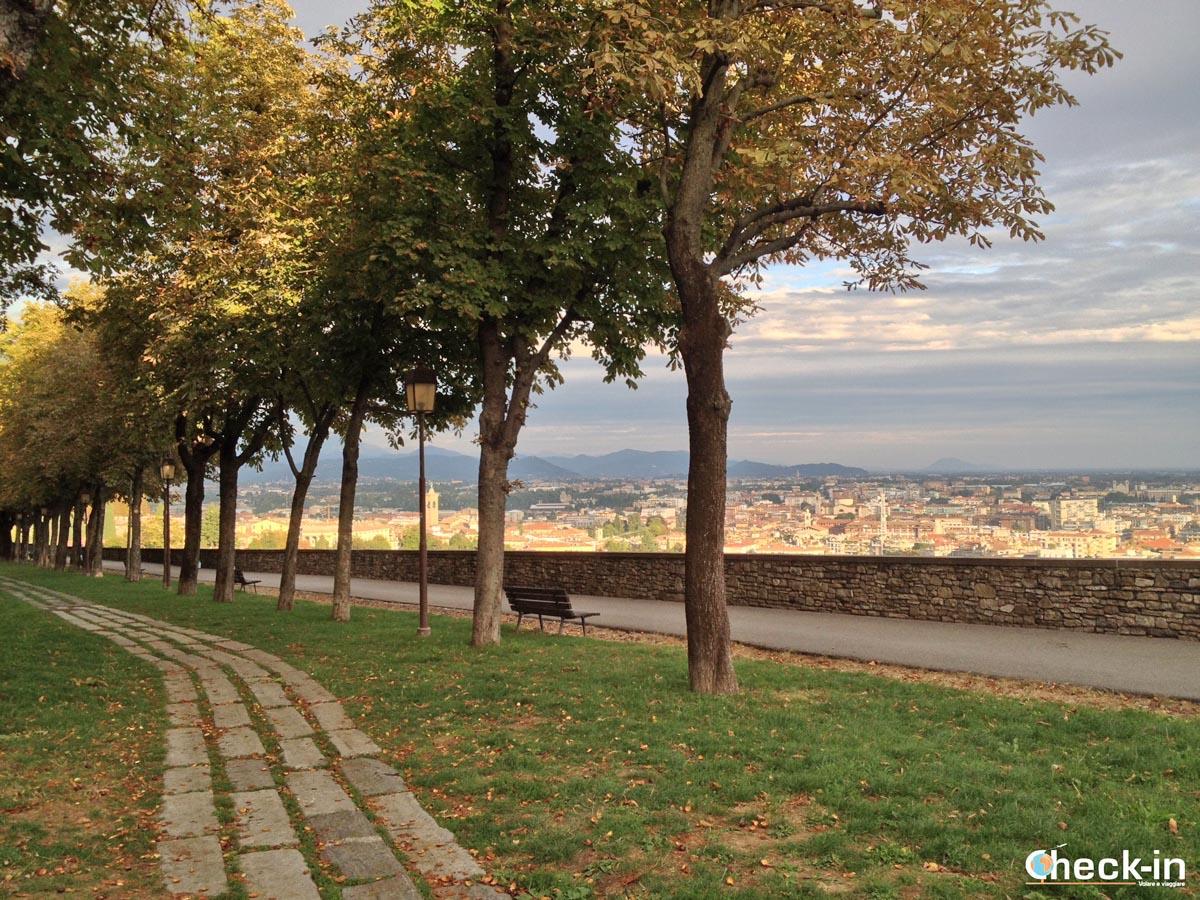 5 cose da vedere a Bergamo in un giorno: viale delle mura