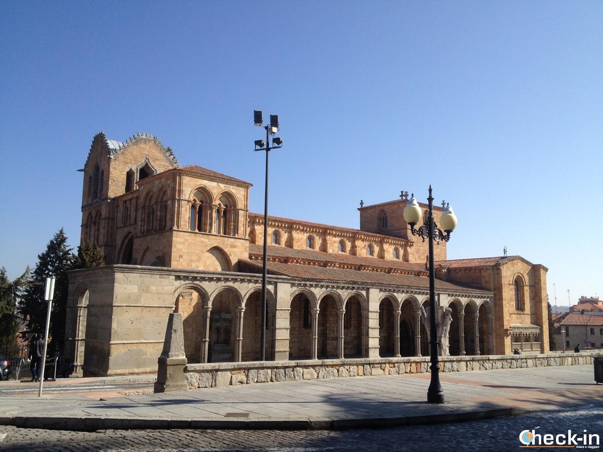 Cosa vedere a Avila: la Basilica di S. Vincenzo