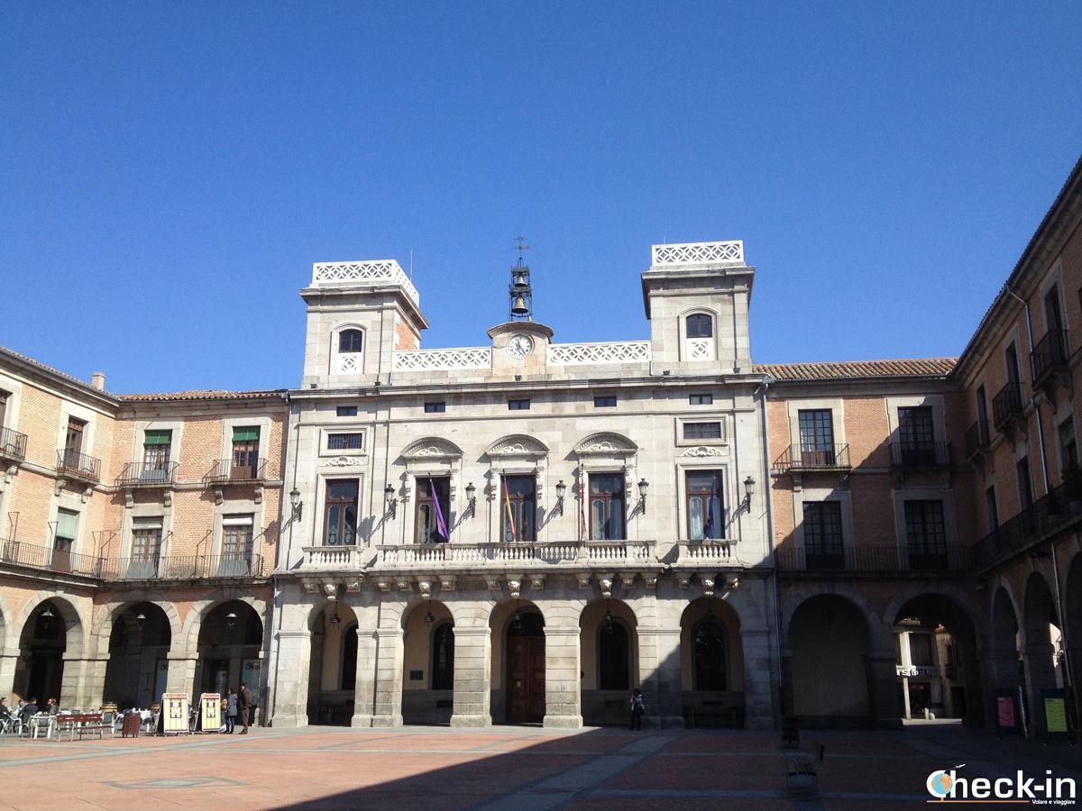Cosa vedere a Avila: il Palazzo del Municipio