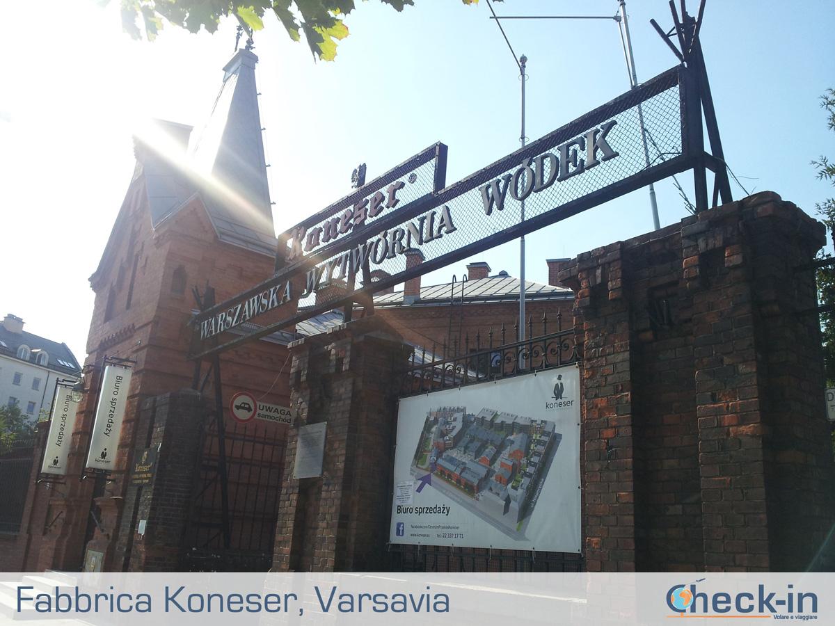 5 cose da vedere a Varsavia: la fabbrica della vodka Koneser