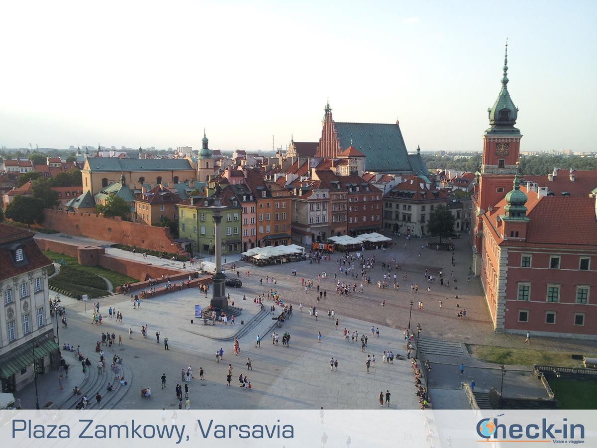 5 cose da vedere a Varsavia: la Plaza Zamkowy