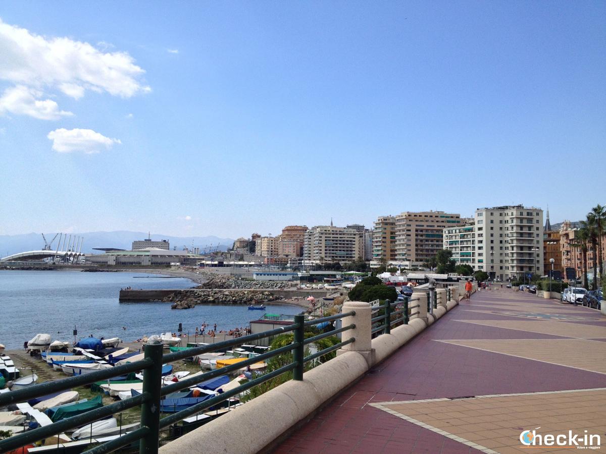 Da Genova Brignole a Boccadasse: il quartiere fieristico