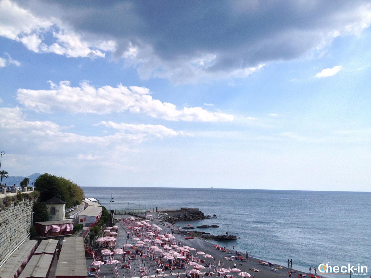 Da Genova Brignole a Boccadasse: stabilimento balneare di Corso Italia