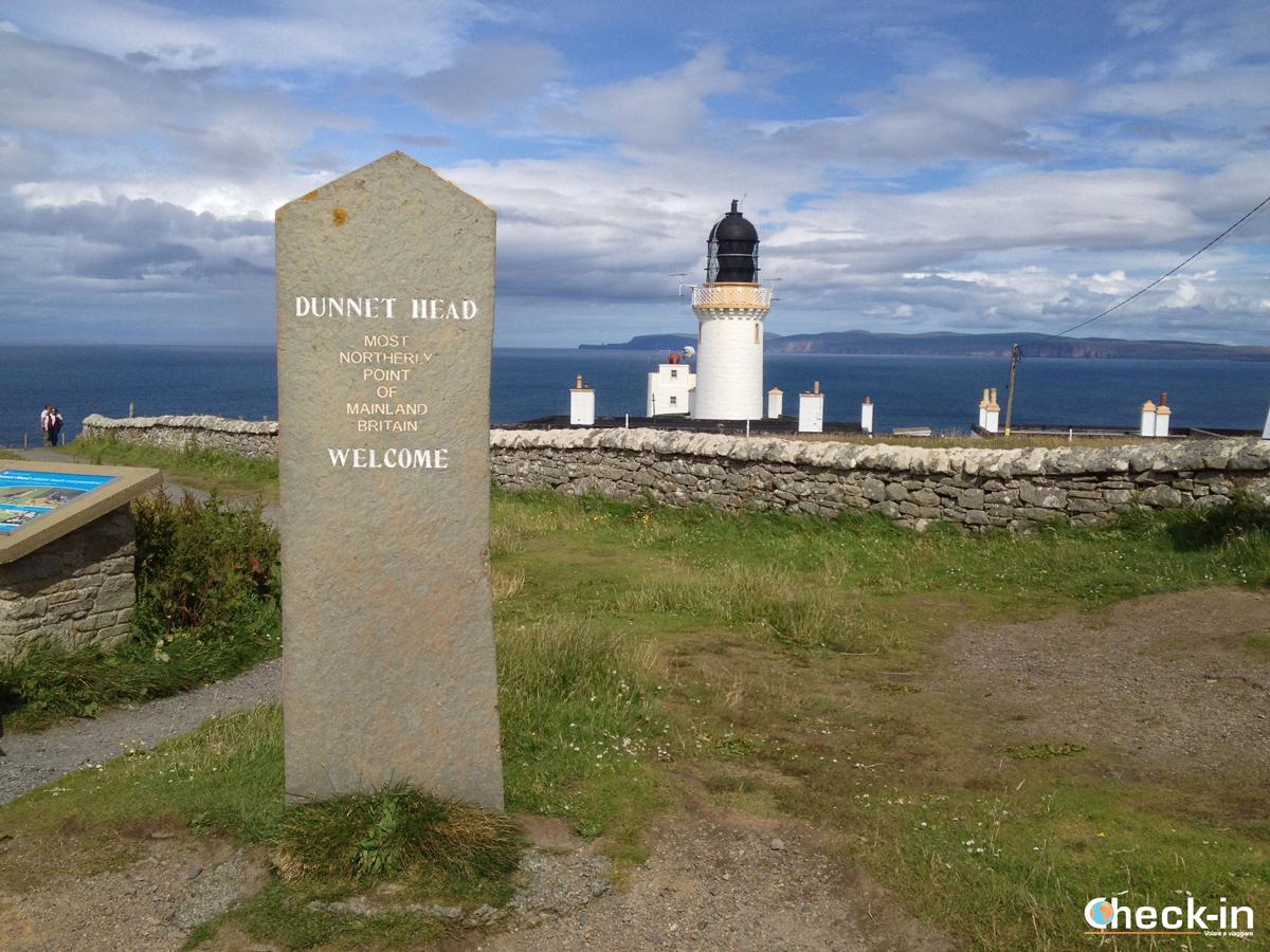 Dunnet Head Lighthouse, il punto più settentrionale della Scozia
