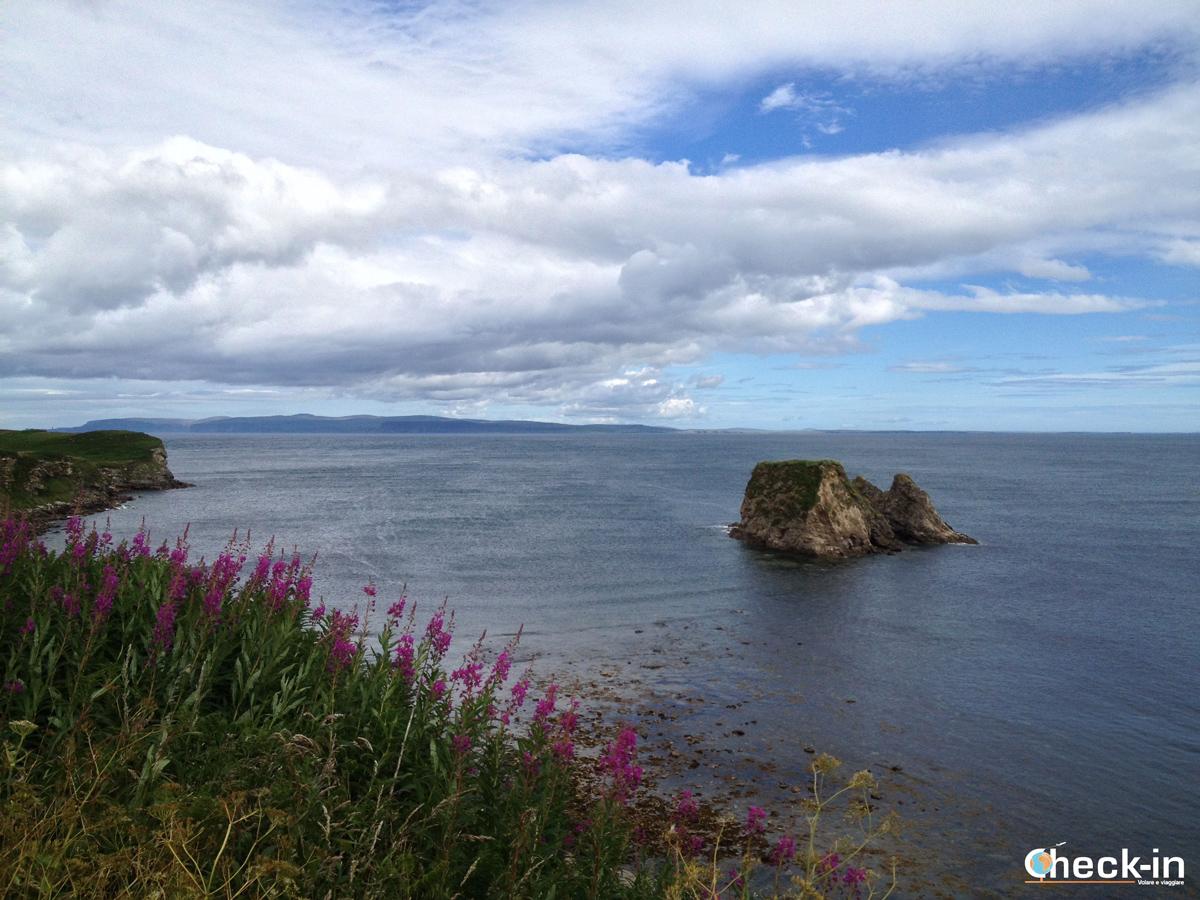 Scorcio della costa in direzione di Dunnet Head
