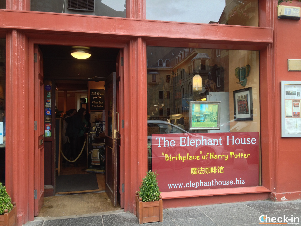 La Old Town di Edimburgo: The Elephant House, dove è nata la saga di Harry Potter