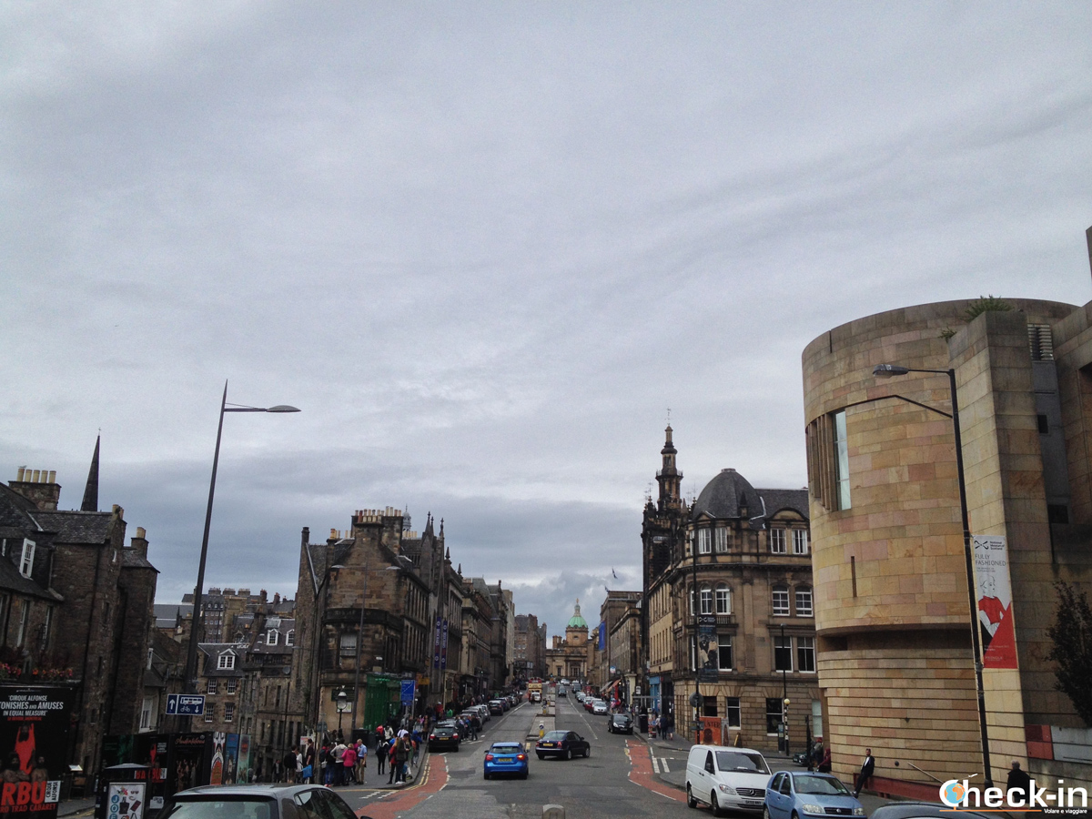La Old Town di Edimburgo: George IV° Bridge
