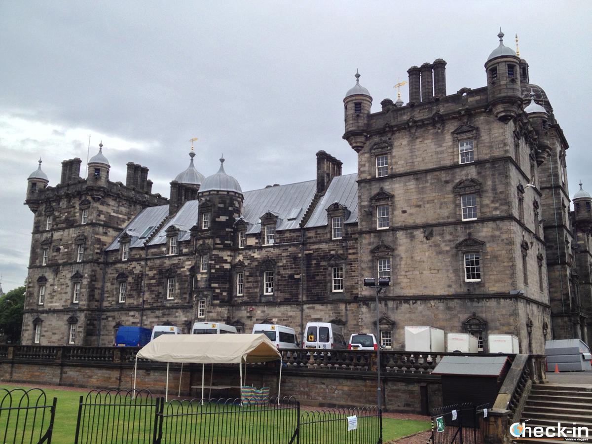 La Old Town di Edimburgo: la George Heriot's School