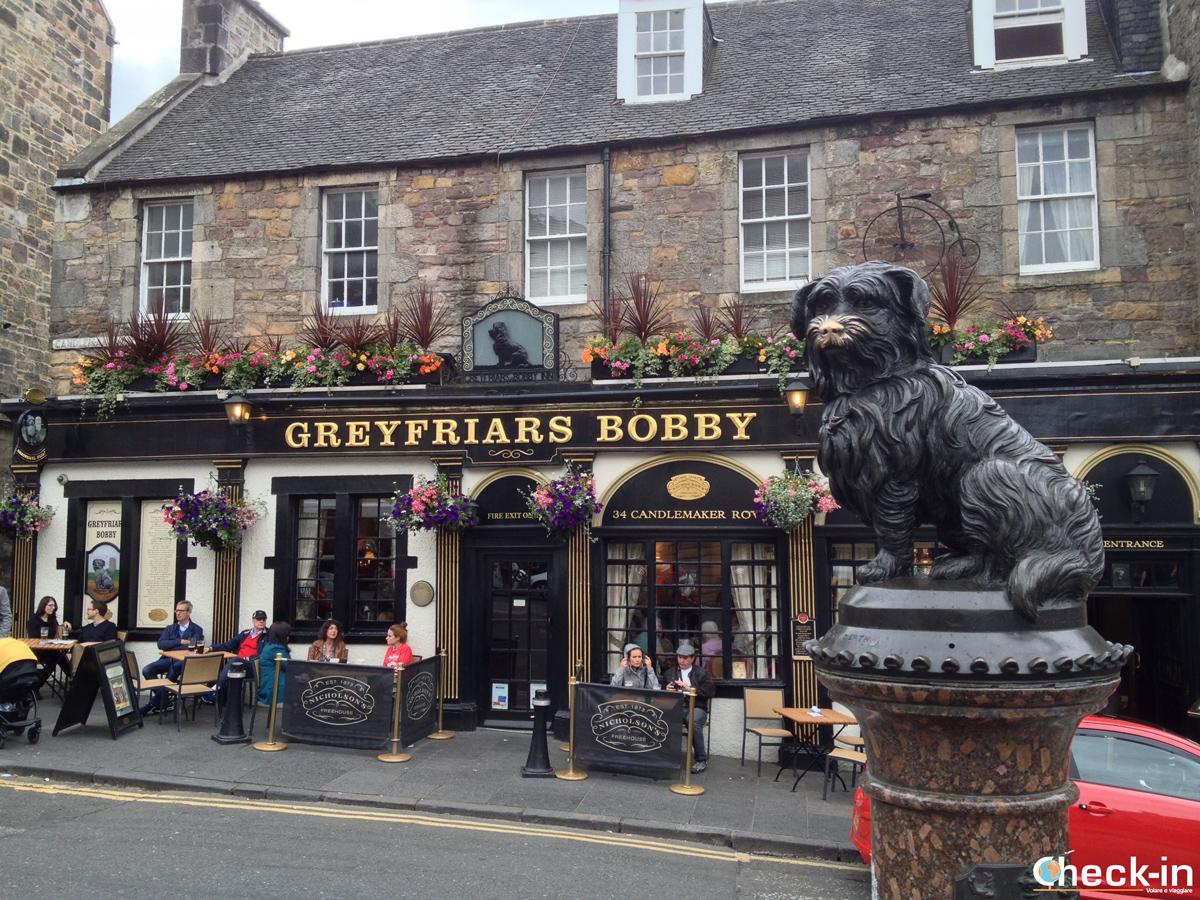 La Old Town di Edimburgo: il Greyfriars Bobby Pub