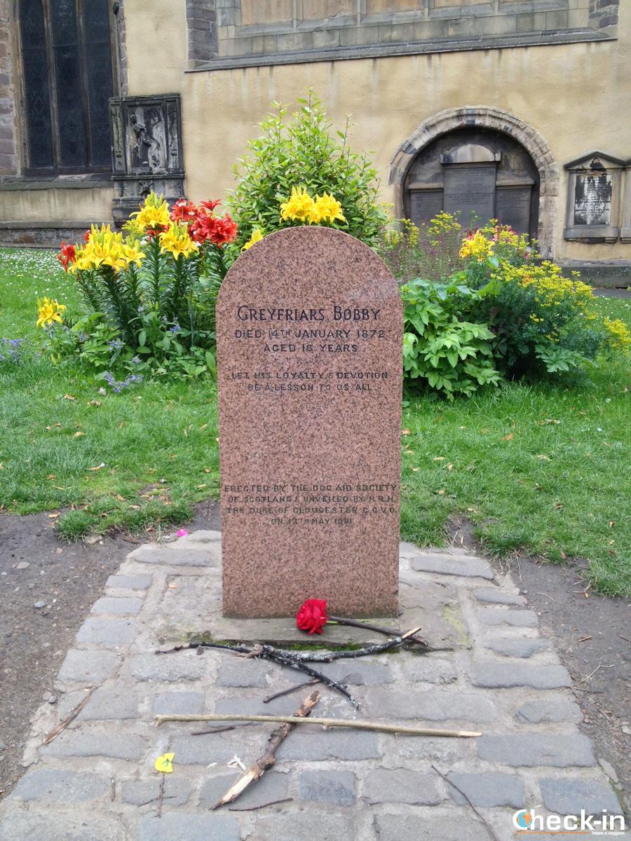 La Old Town di Edimburgo: la tomba di Bobby
