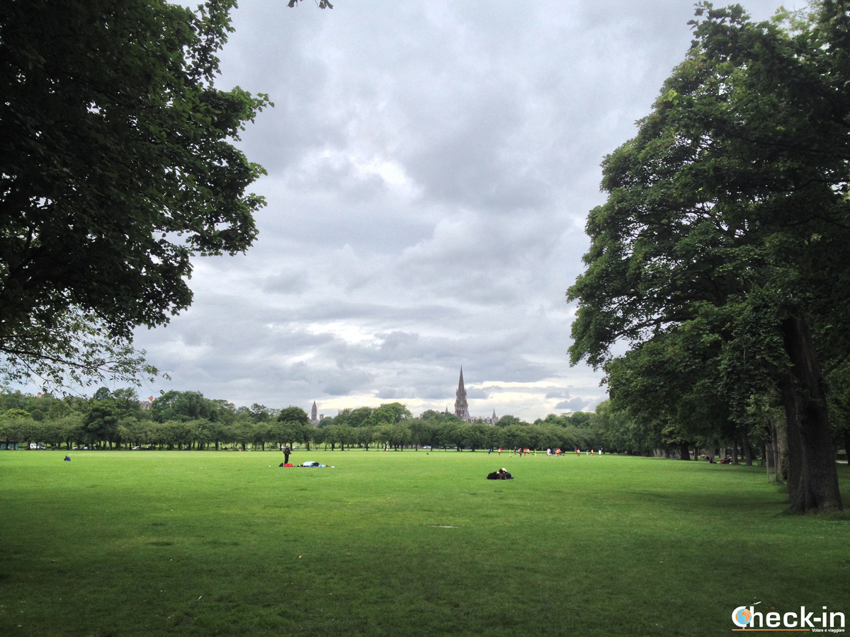 La Old Town di Edimburgo: The Meadows