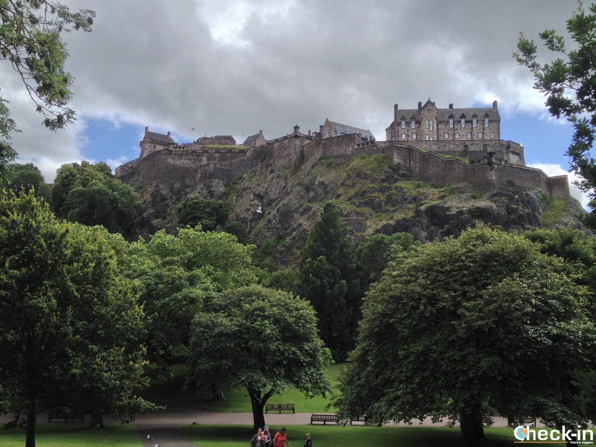 La New Town di Edimburgo: i West Princes Street Gardens