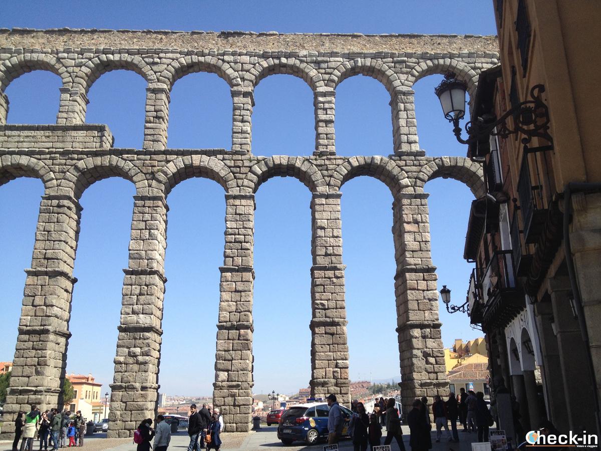 Cosa vedere a Segovia: l'Acquedotto Romano