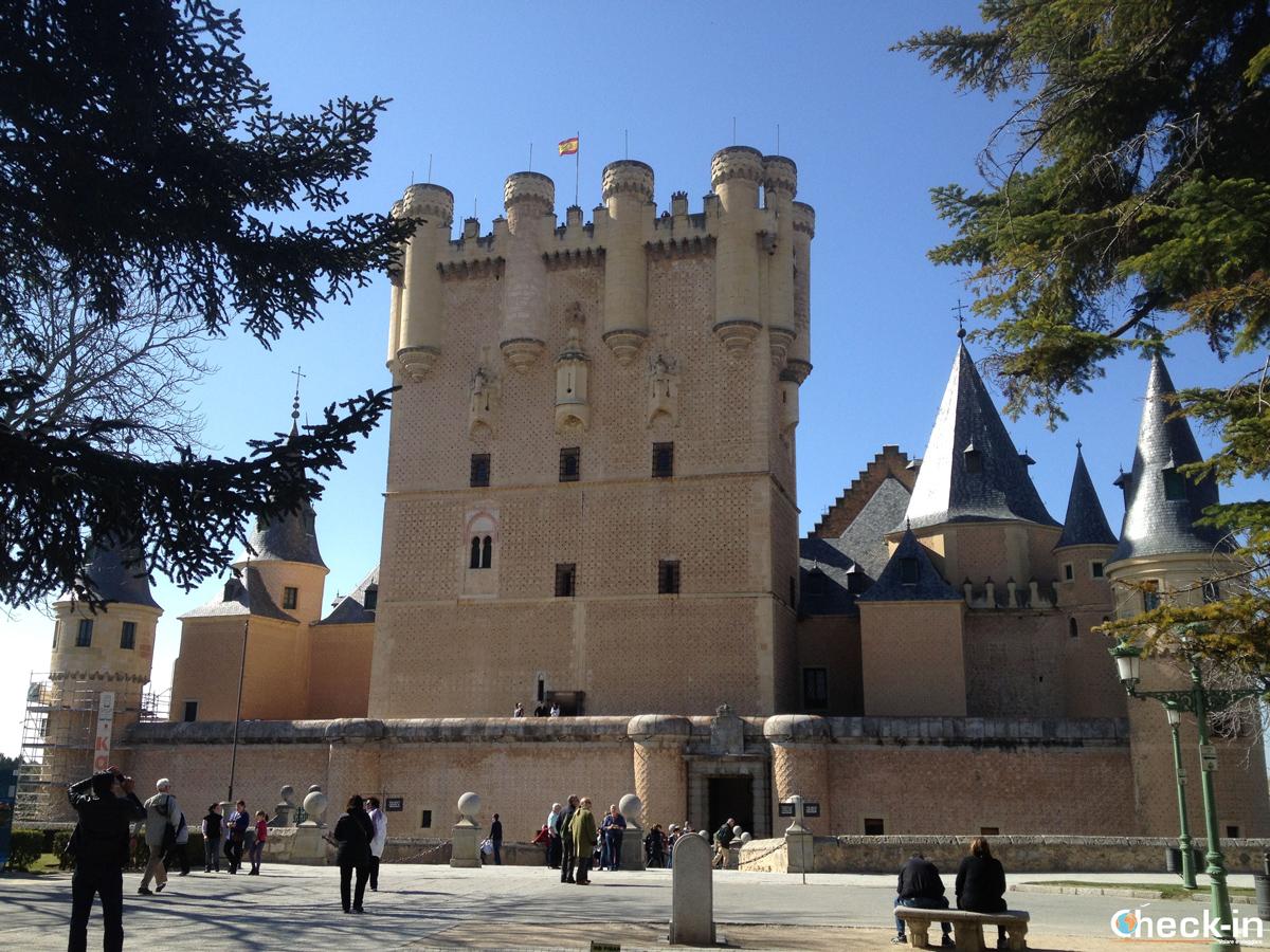 Cosa vedere a Segovia: l'Alcázar