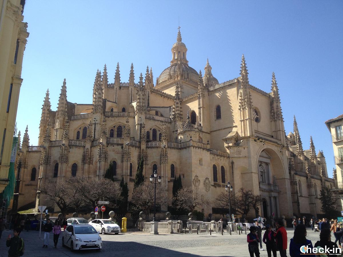 Cosa vedere a Segovia: la sua imponente Cattedrale