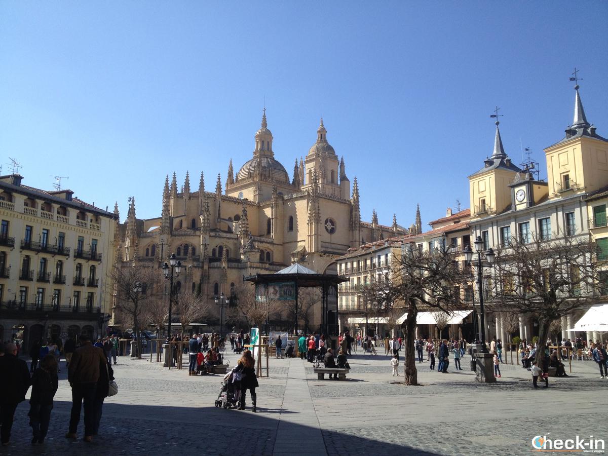 Cosa vedere a Segovia: Plaza Mayor