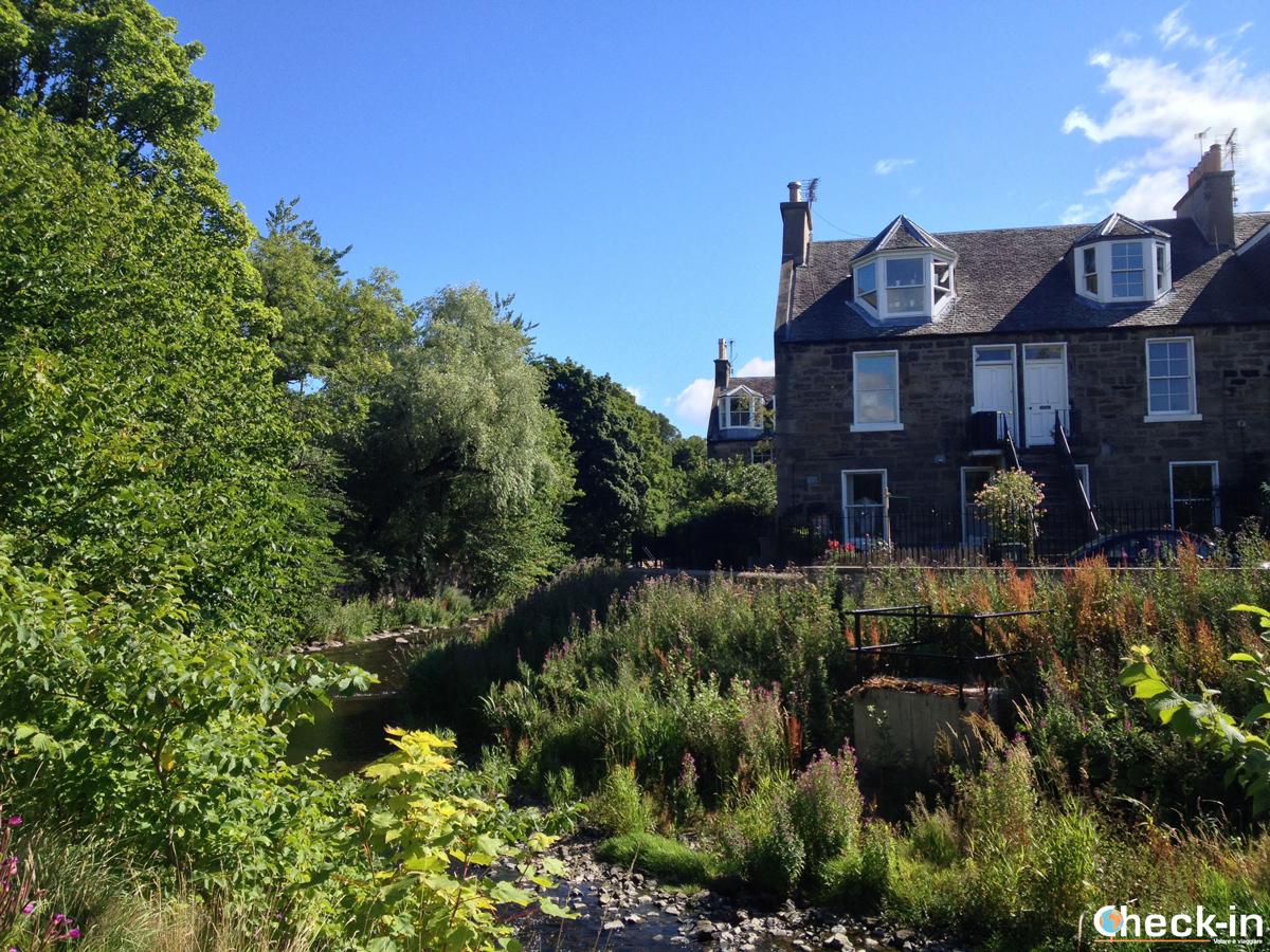 Dean Village e Stockbridge: casa lungo il Water of Leith