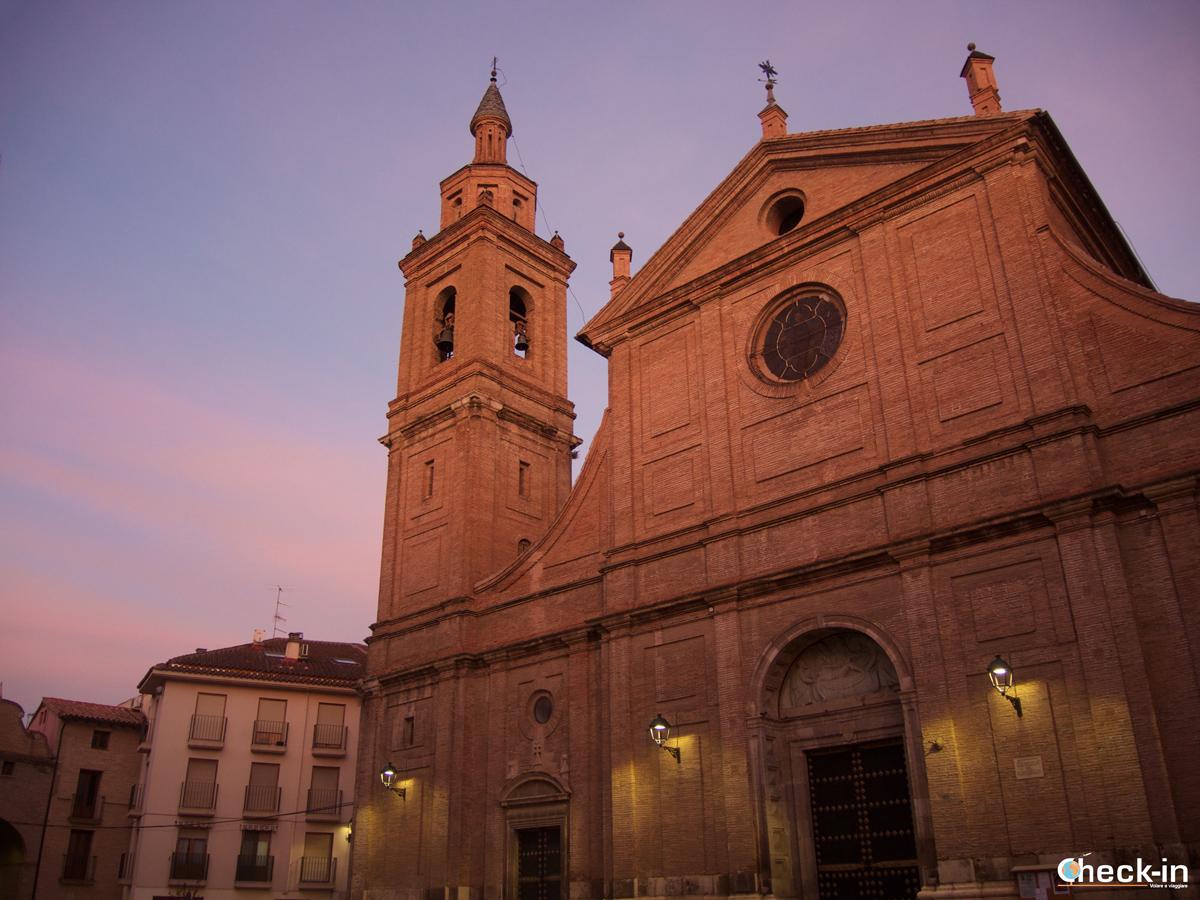 Di ritorno dal Monasterio de Piedra: sosta a Calatayud - Aragona, Spagna
