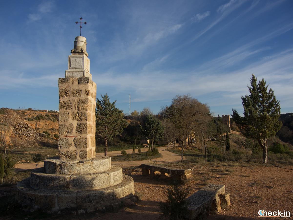 La Cruz de Gayarre del Monasterio de Piedra - Spagna del nord