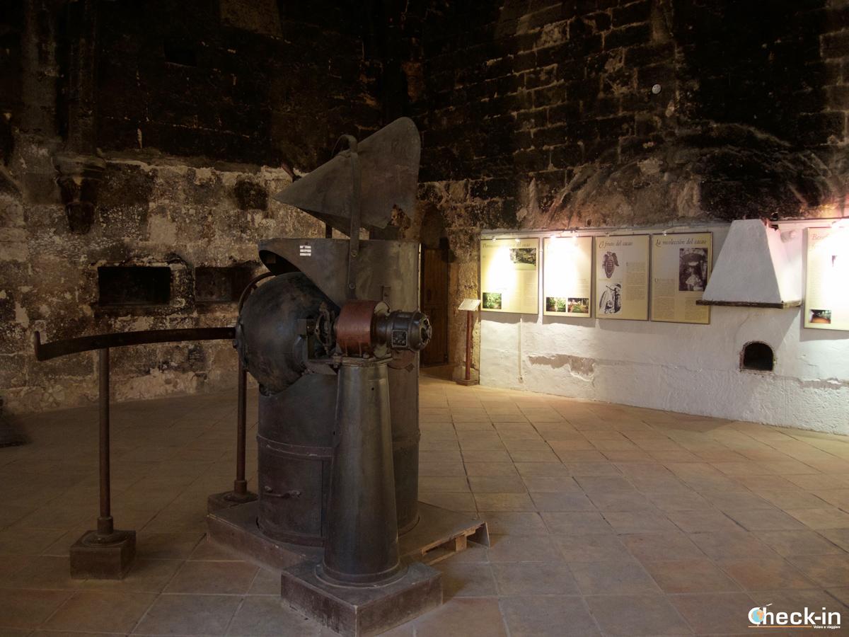 Il Museo del cioccolato all'interno del Monasterio de Piedra - Spagna del nord