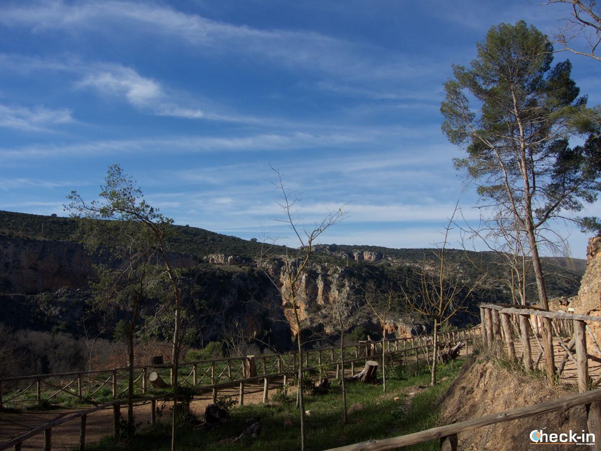 Parque del Monasterio de Piedra: il mirador Cola de Caballo
