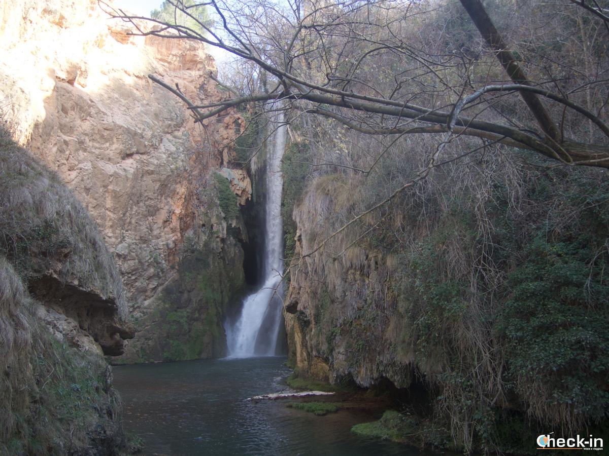 Parque del Monasterio de Piedra: al Pie Cola de Caballo - Spagna del nord