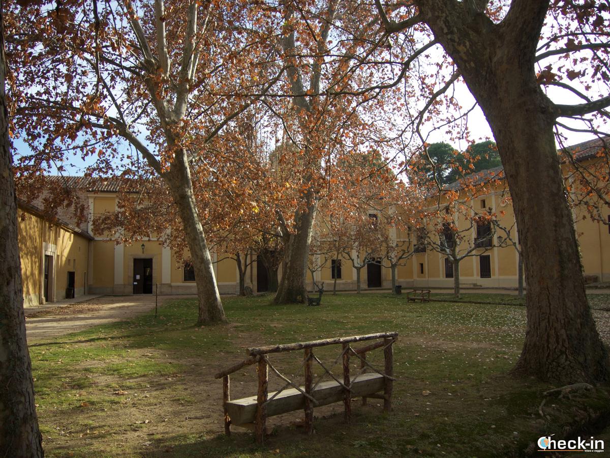 Il Monasterio de Piedra e la sua Plaza Mayor