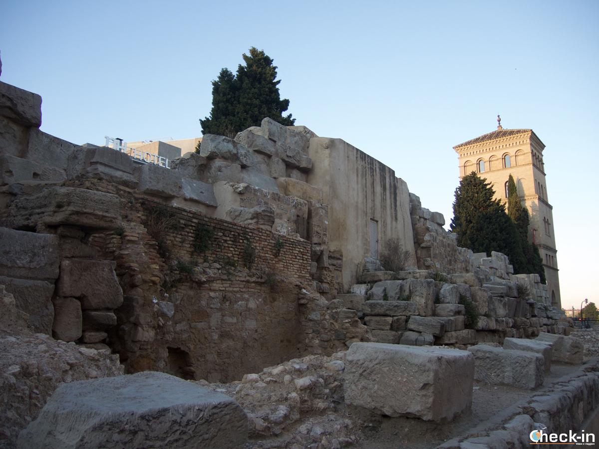 Cosa vedere a Saragozza: mura romane e Torreón de la Zuda