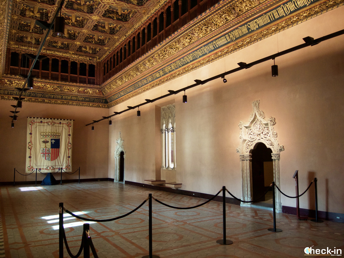 Centro storico di Saragozza: Sala del Trono nel Palacio de la Aljafería
