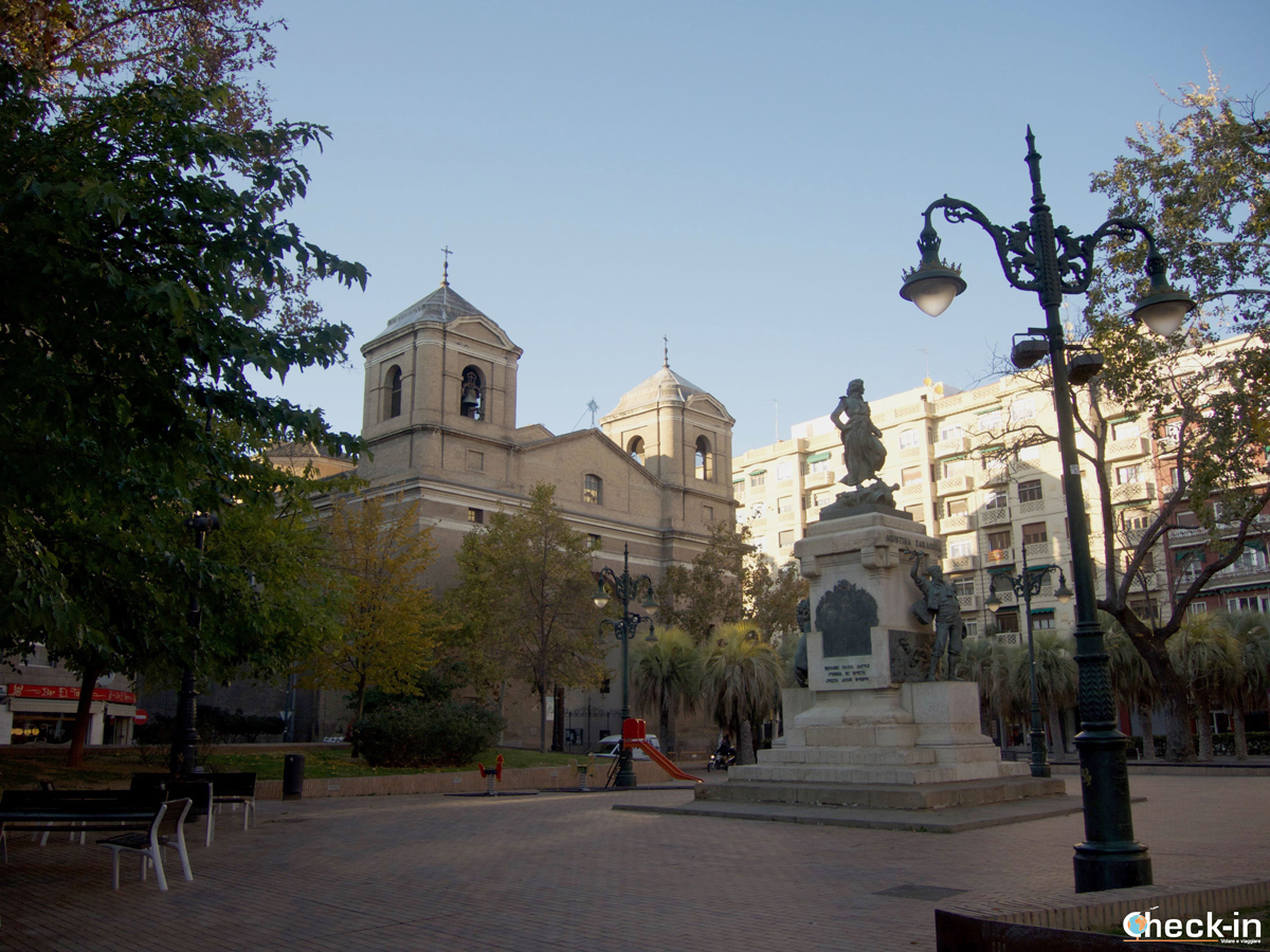 Cosa vedere a Saragozza: Plaza del Portillo