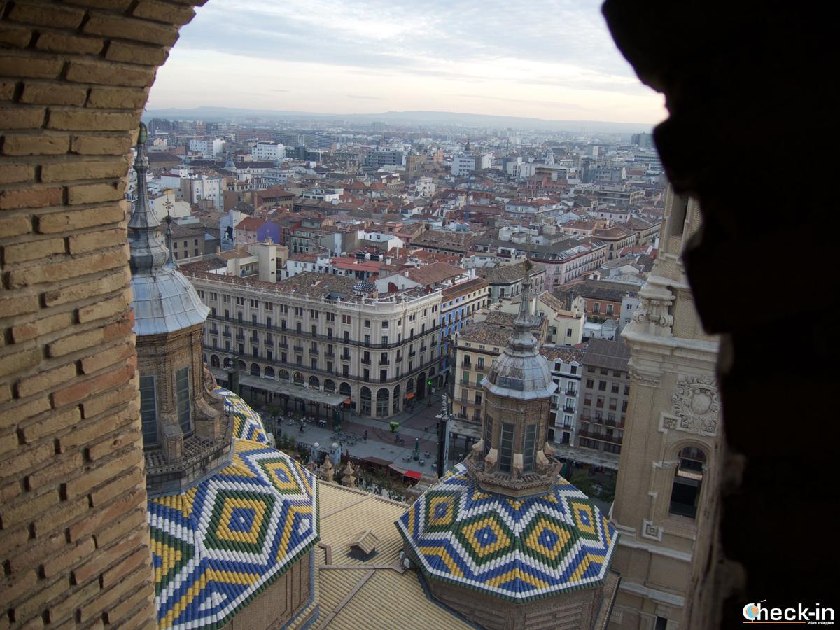 Salita alla Torre Vieja della Basilica del Pilar di Saragozza