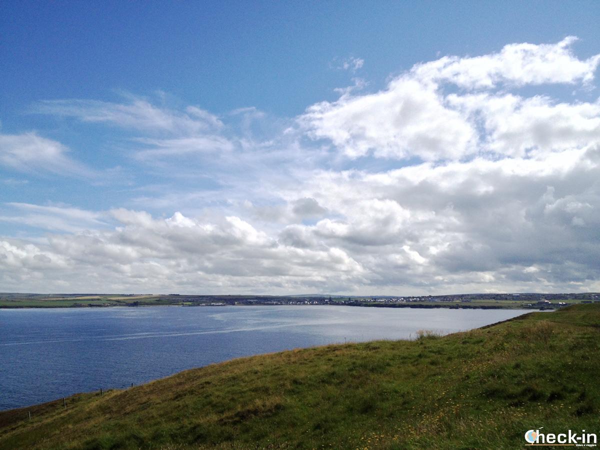 Caithness: il profilo della costa scozzese vista da Holborn Head