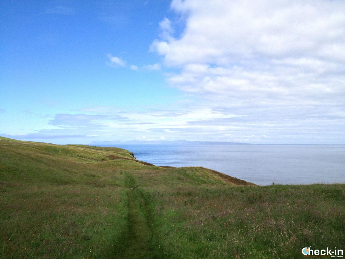 Caithness: il sentiero verso Holborn Head
