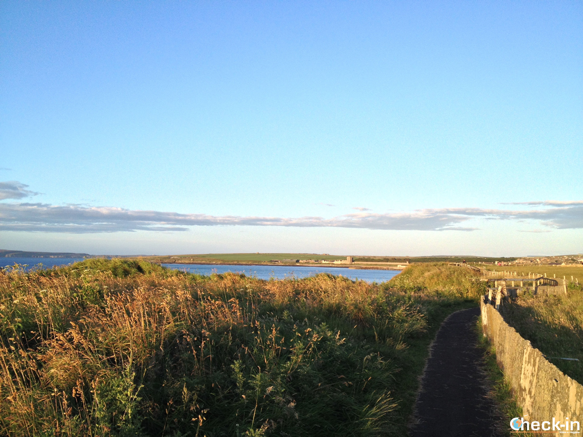 Caithness: la Victoria Walk e le flagstone