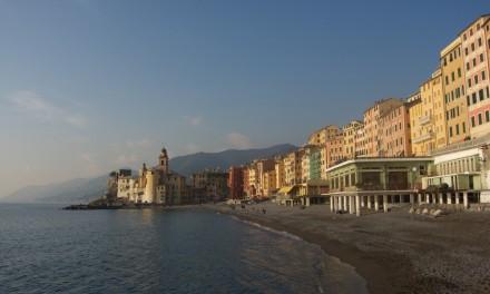 Passeggiata a Camogli tra le colline ed il mare della Liguria