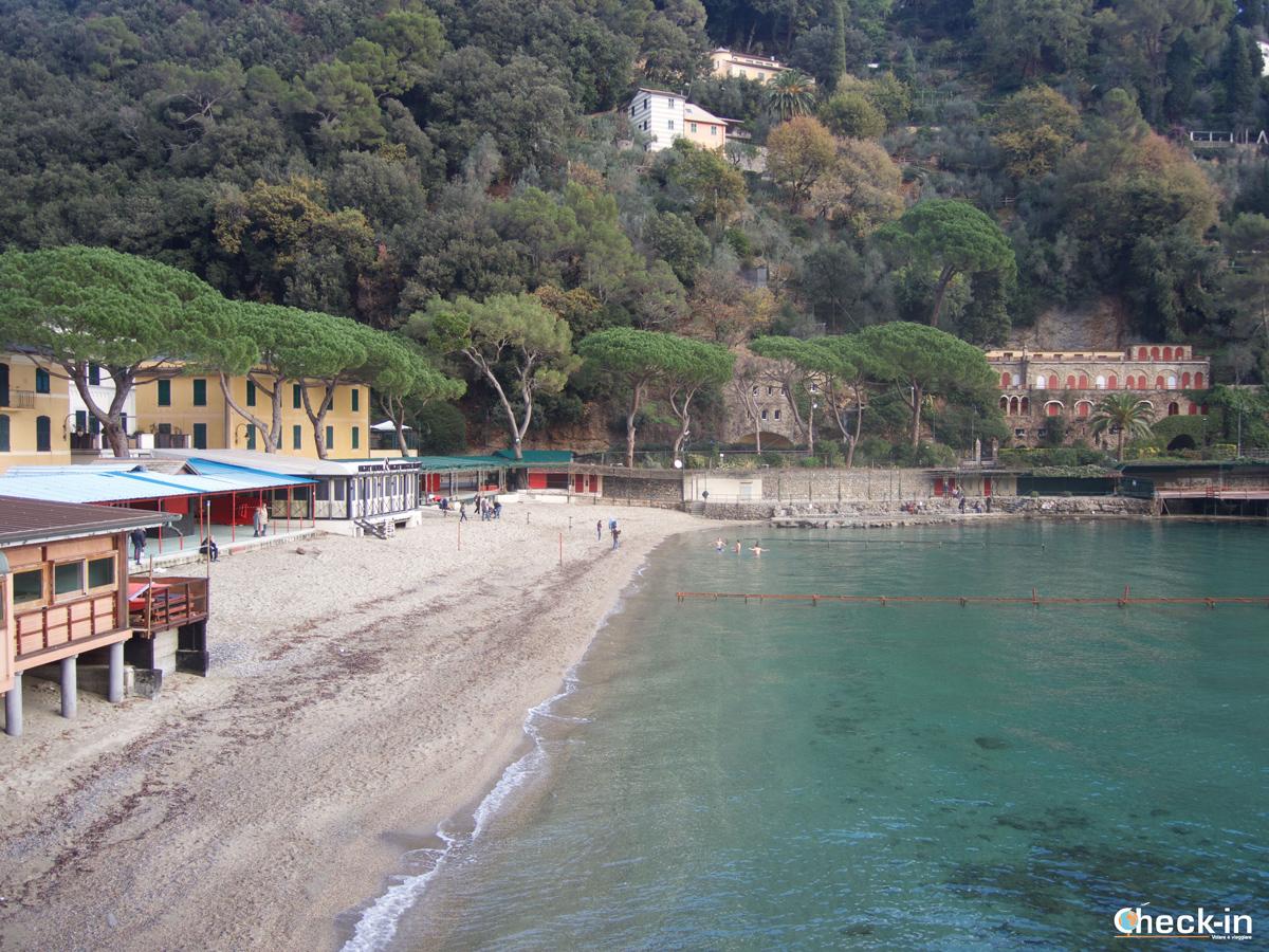 Passeggiata da Santa Margherita a Portofino: la baia di Paraggi