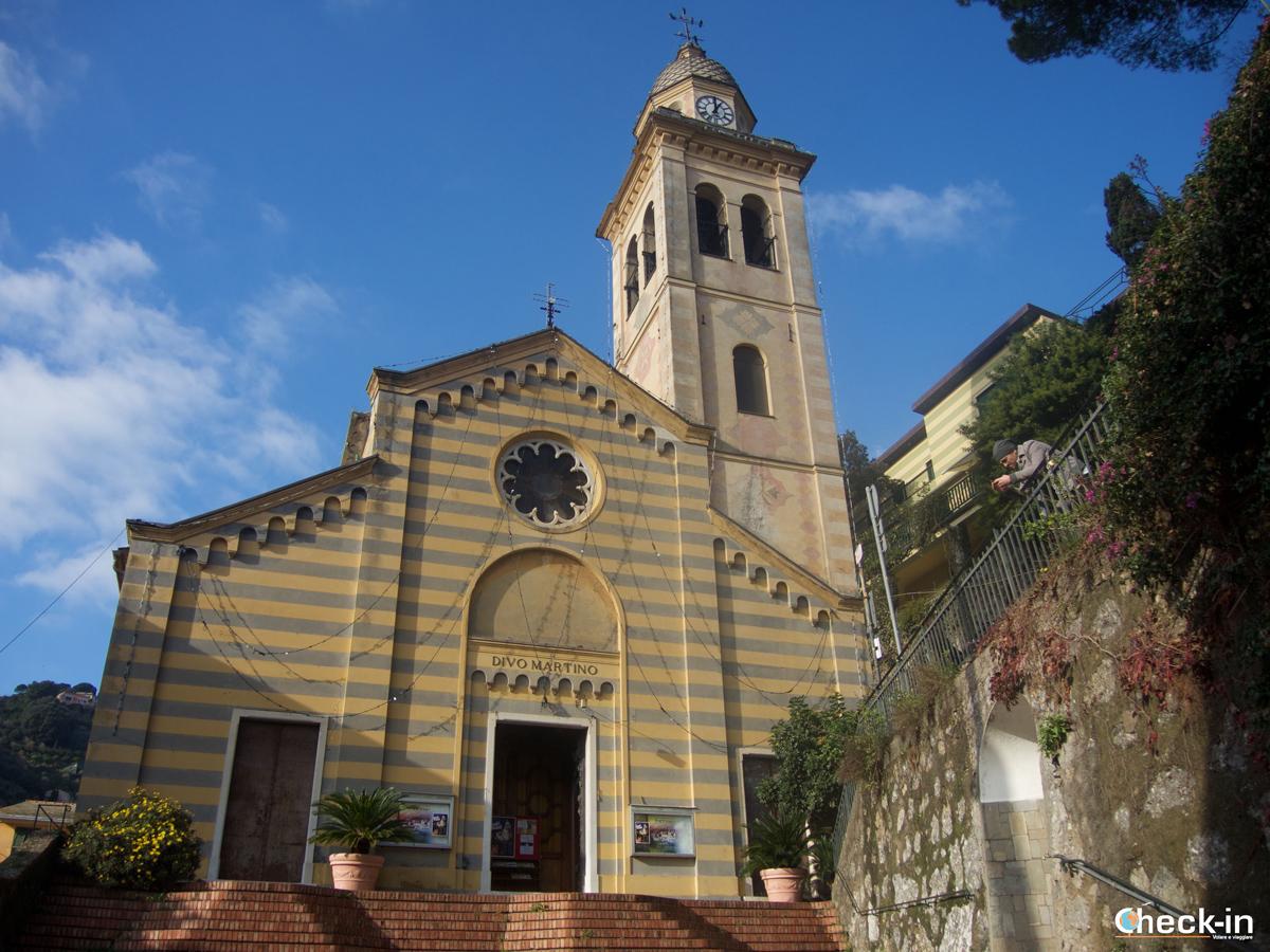 Passeggiata da Santa Margherita a Portofino: la Chiesa di San Martino