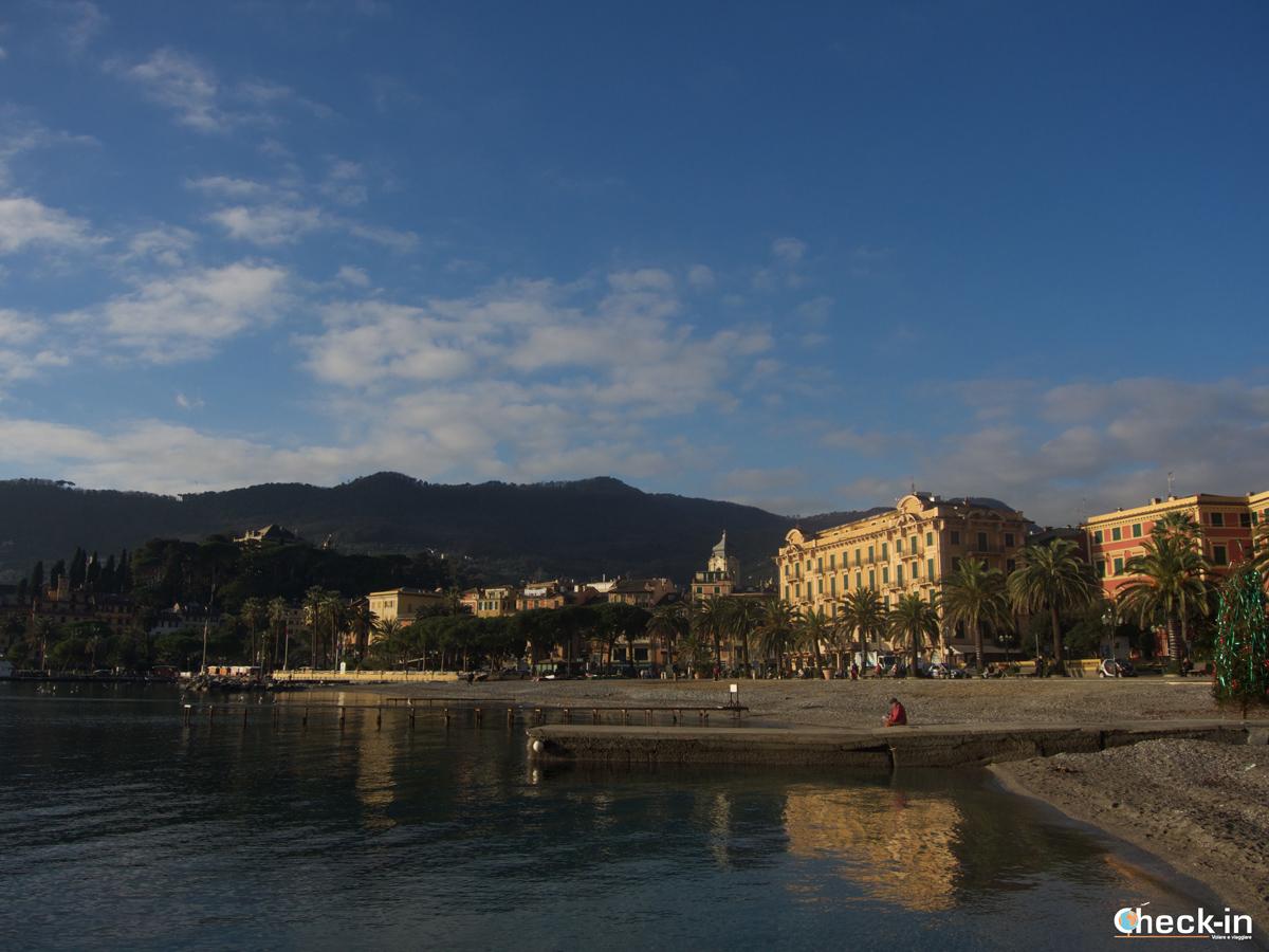 Passeggiata da Santa Margherita a Portofino: il lungomare di S. Margherita