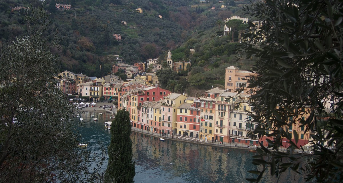 Liguria a piedi da Santa Margherita a Portofino passando per Paraggi