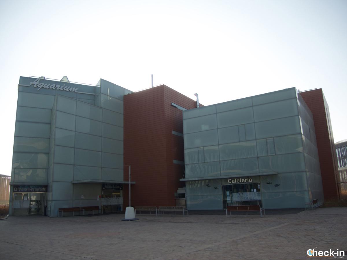 Zaragoza Expo 2008: l'Acuario fluvial