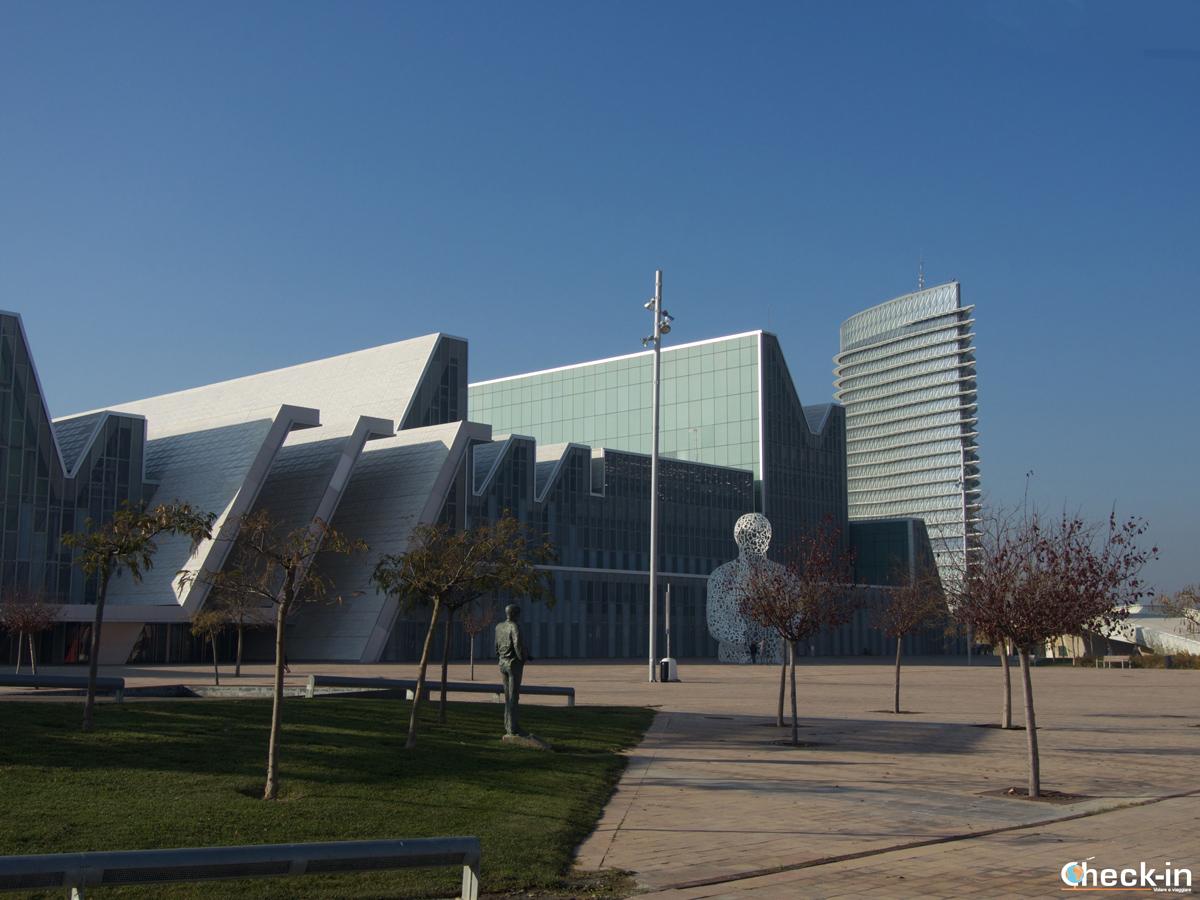 Zaragoza Expo 2008: il Palacio de Congresos e Alma del Ebro