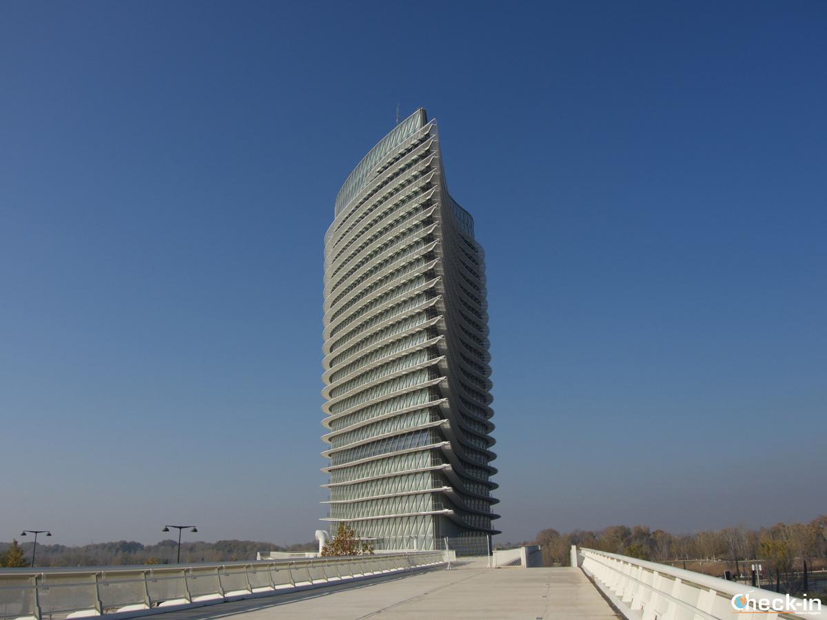 Zaragoza Expo 2008: la Torre del agua
