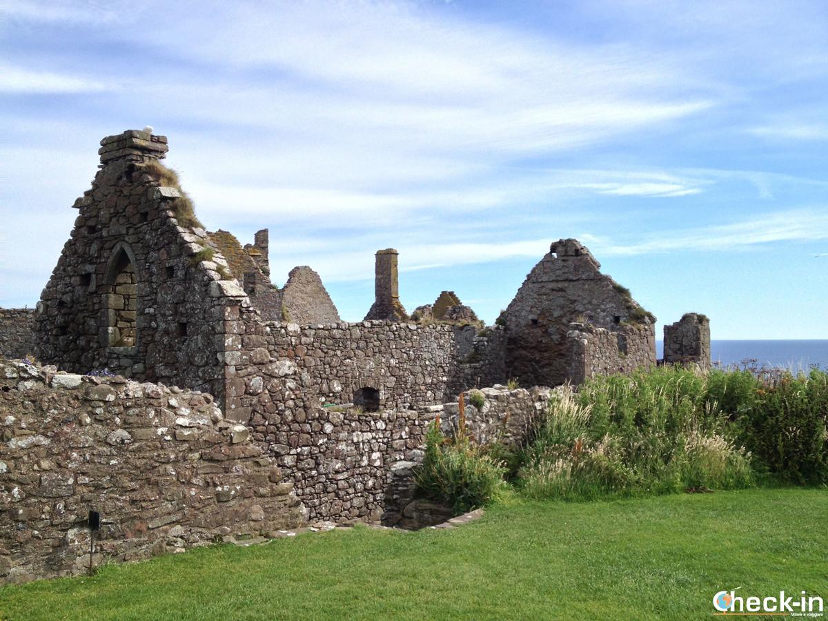 Dentro al Dunnottar Castle: le rovine della Cappella